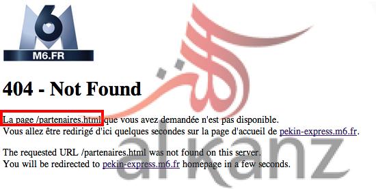M6 partenaires not found