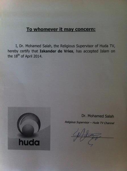 certification de conversion