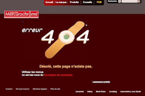 mercurochrome 404