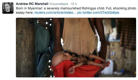 rohingya famine