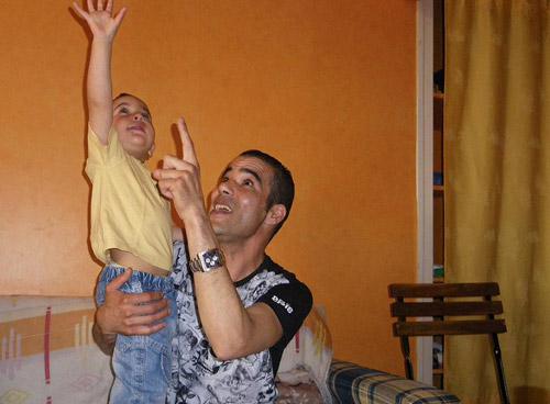 said bourarach et son enfant
