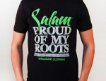 tshirt salam proud of my roots