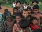 village birmanie rohingya