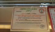 certificat perime