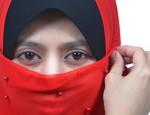 echarpe rouge
