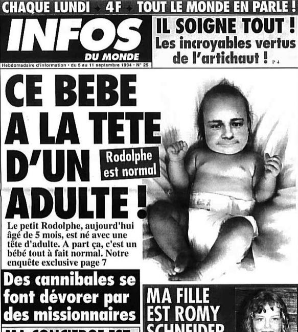 infos du monde bebe tete adulte
