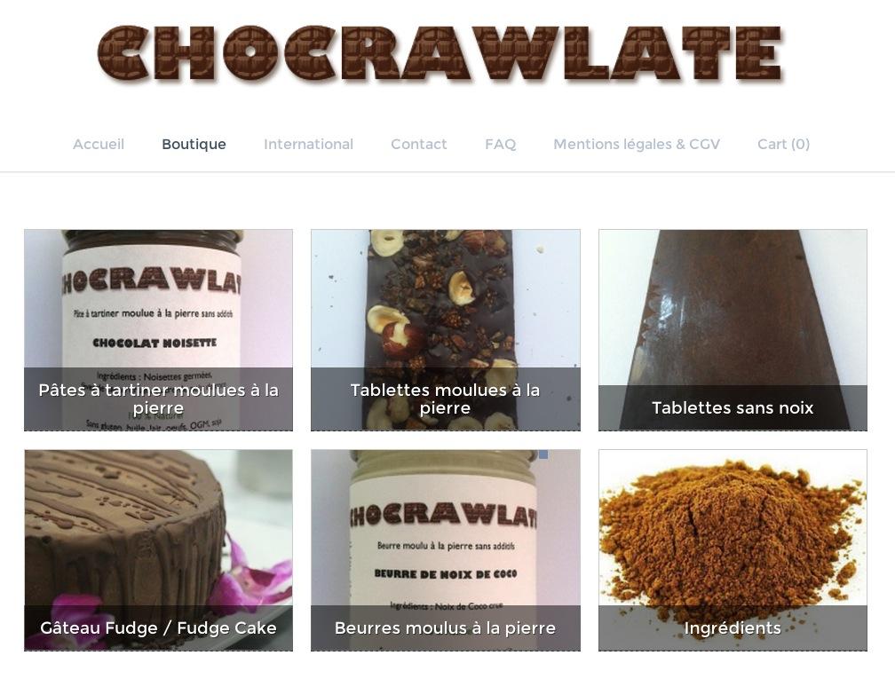 chocrawlate le site