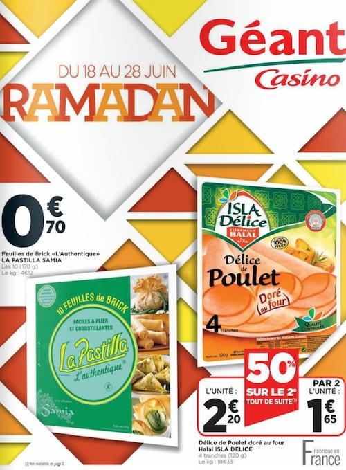 geant casino ramadan