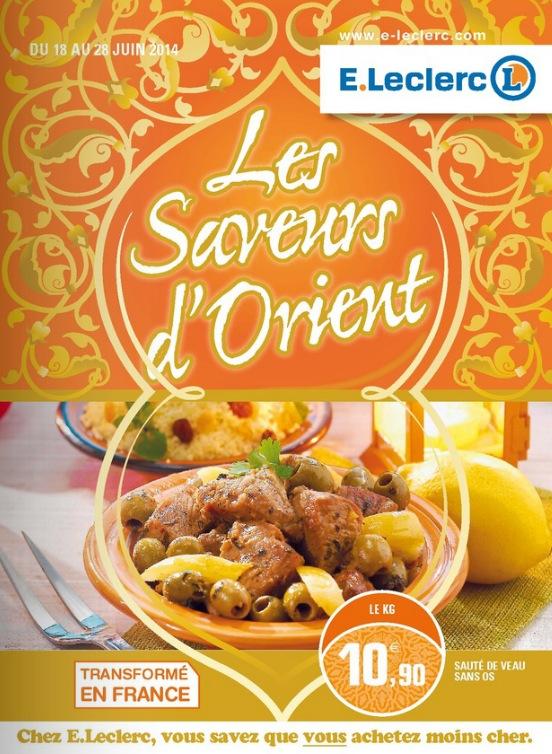 leclerc ramadan bobigny saveurs d'orient