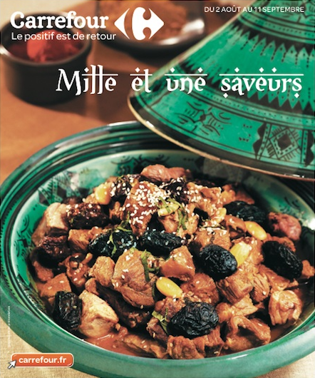 mille saveurs carrefour