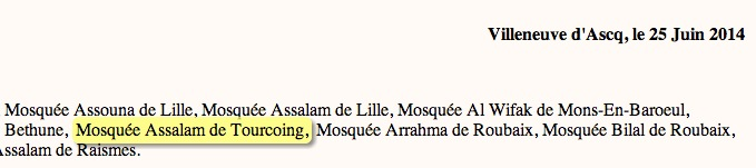 mosquee assalam tourcoing uoif