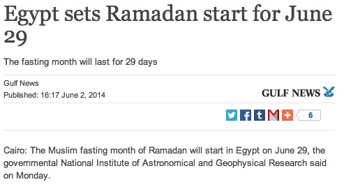 ramadan egypte 29 juin