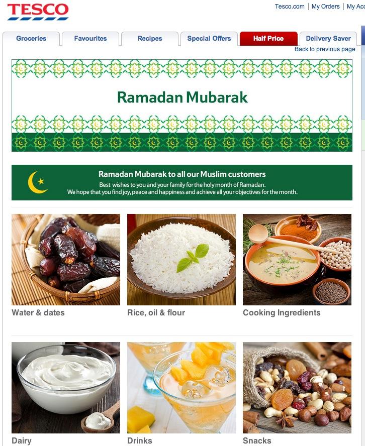 tesco ramadan