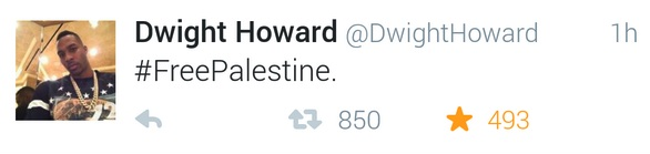 Dwight Howard free Palestine