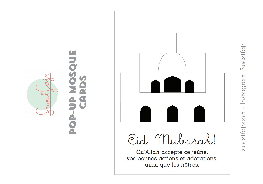 eid mubarak mosquee pop up 1