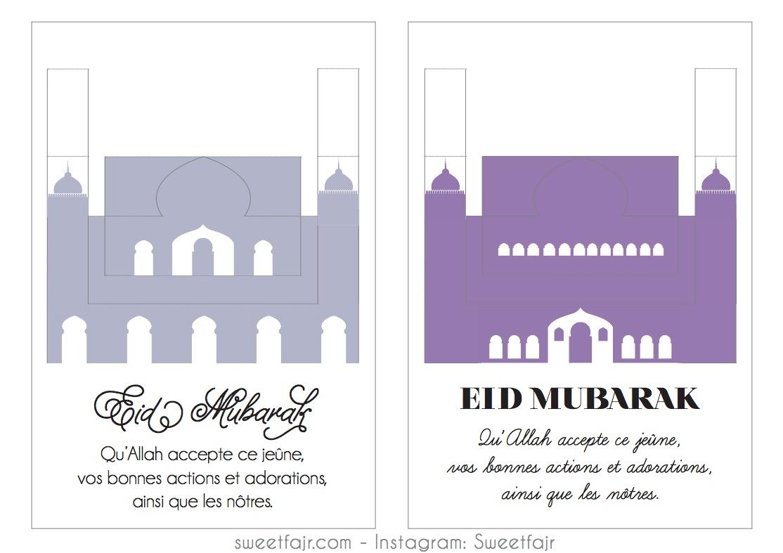 eid mubarak mosquee pop up 2