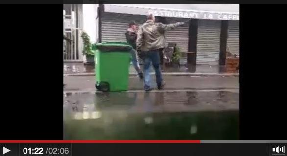 police crs ldj rue de la roquette paris 13