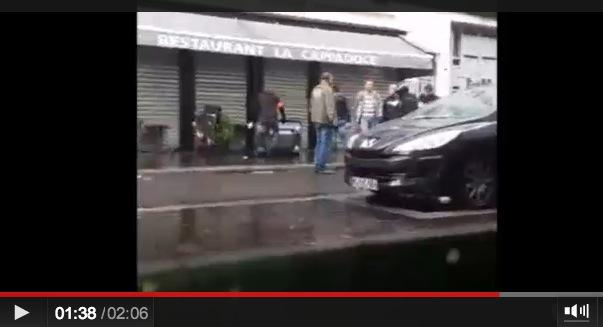 police crs ldj rue de la roquette paris 14