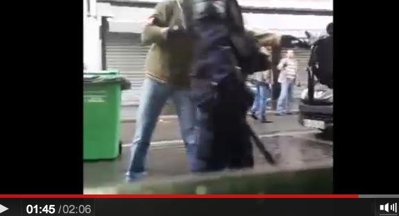 police crs ldj rue de la roquette paris 15