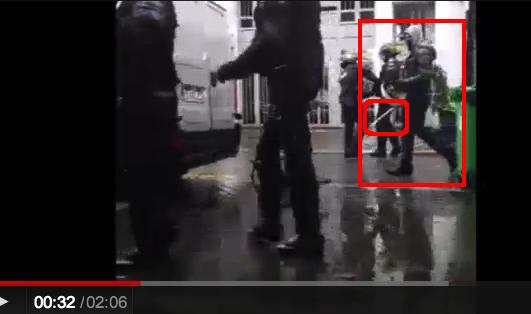police crs ldj rue de la roquette paris 2