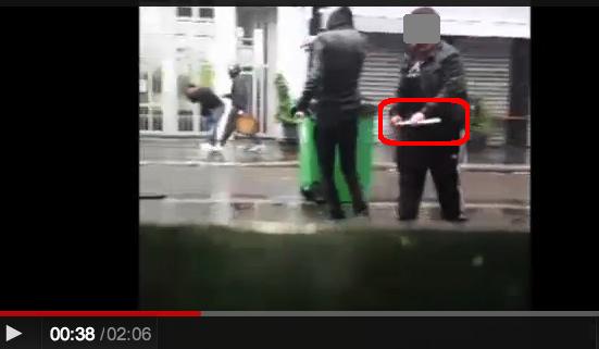 police crs ldj rue de la roquette paris 4