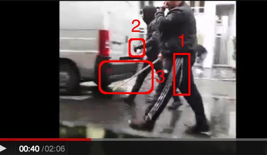 police crs ldj rue de la roquette paris 5