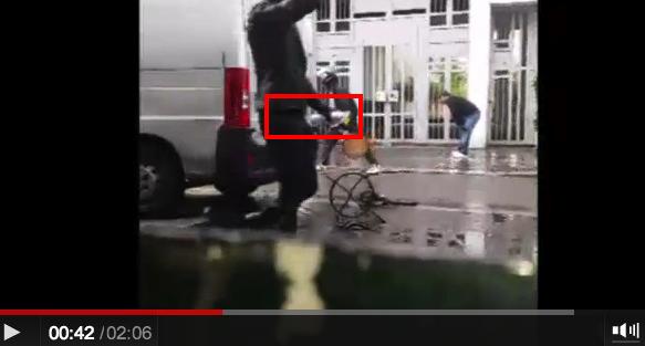 police crs ldj rue de la roquette paris 6