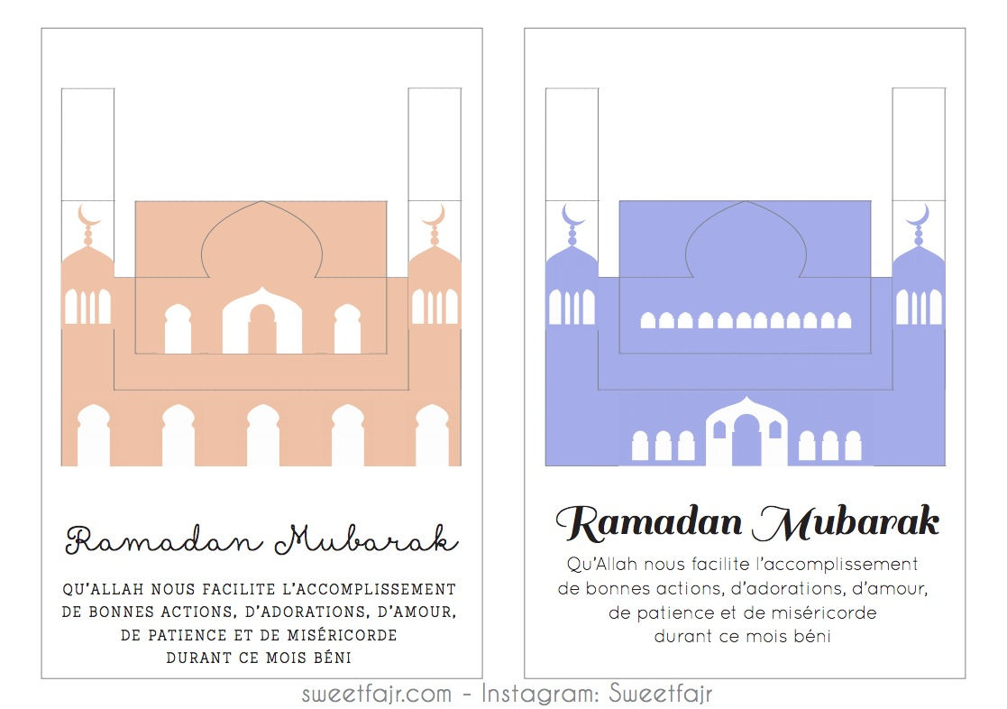 ramadan mubarak mosquee pop up 2