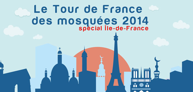 tour de france des mosquées 2014