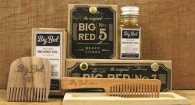 Big Red Beard Comb barbe