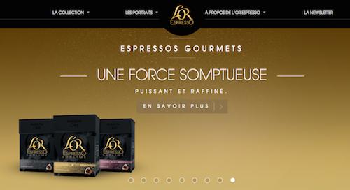 L'or espresso Nespresso