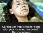boycott garnier gaza