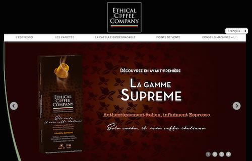 ethical coffe company espresso