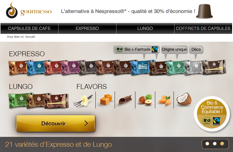 capsulin nespresso