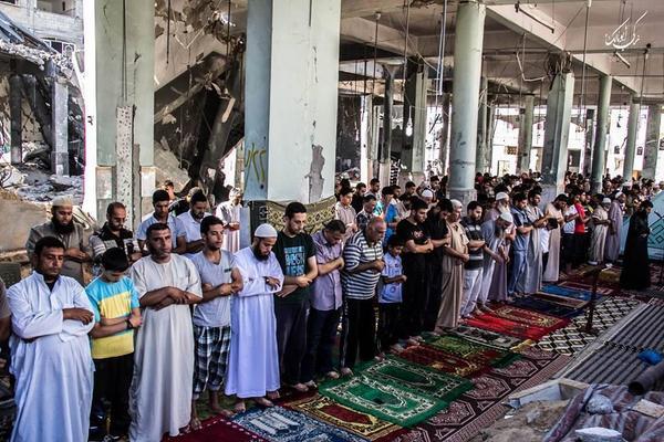 prayer gaza