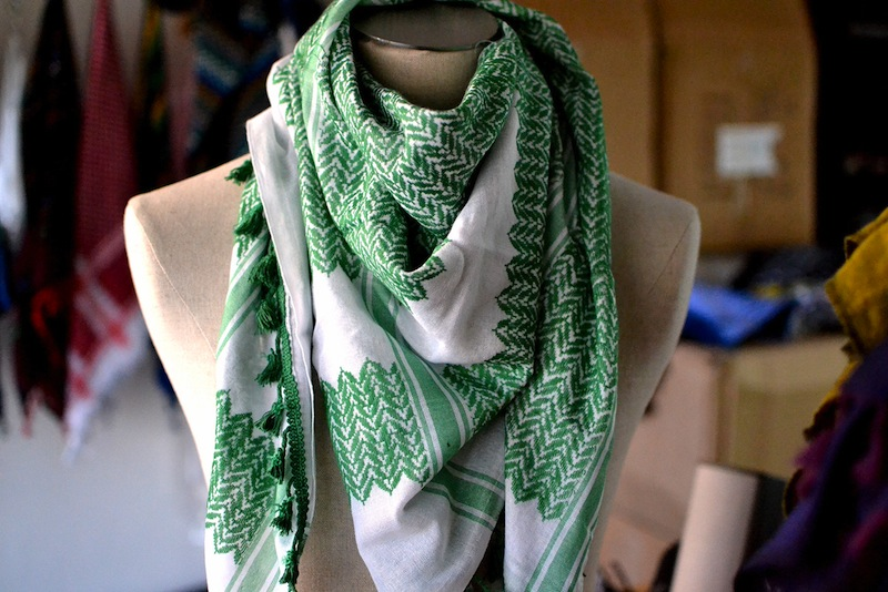 keffieh-green