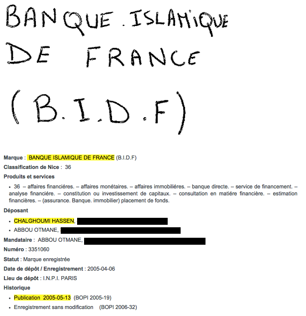 La banque islamique de france de hassen chalghoumi - Banque chaabi credit islamique ...