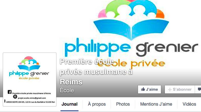 ecole privee musulmane Philippe Grenier