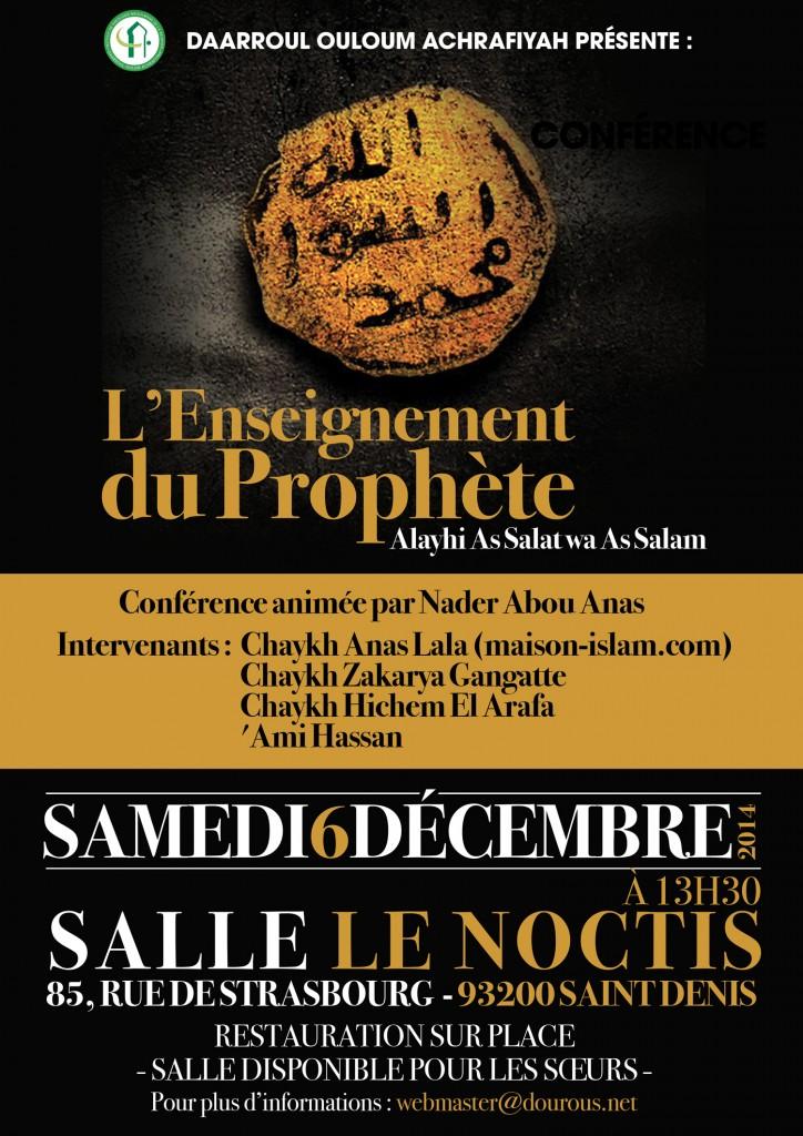 Dourous net Enseignement du Prophete