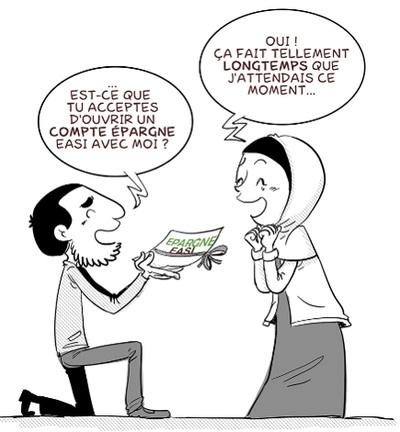 Epargne - Demande en mariage