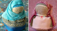 doll hijab diy