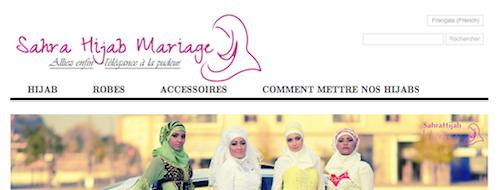 sarah hijab mariage