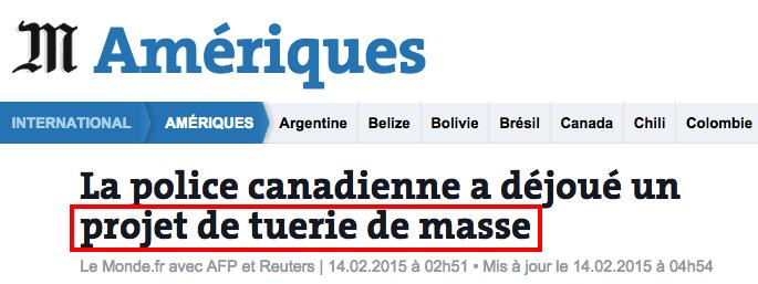 tuerie de masse canada