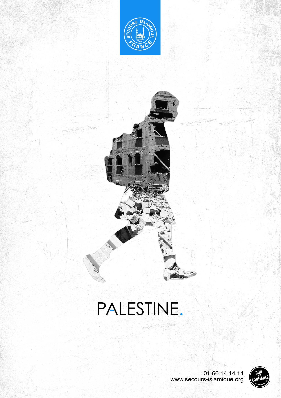 affiche palestine secours islamique 2