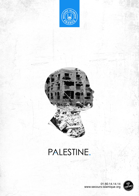 affiche palestine secours islamique