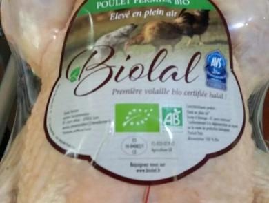 biolal poulet bio halal