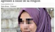 islamophobie femme voilee agressee