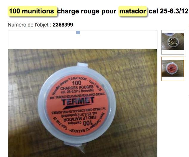 munitions matador