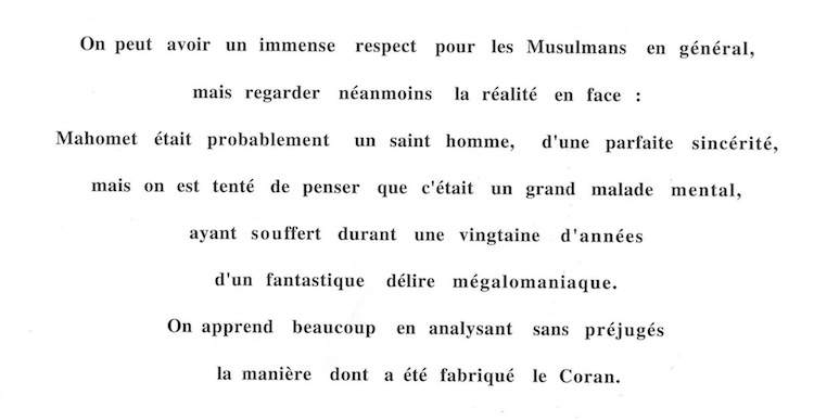 lettre anonyme Mitry-Mory