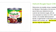 bonduelle haricots rouges